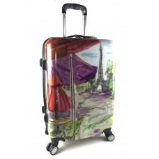 Пластиковый чемодан  УЦЕНКА