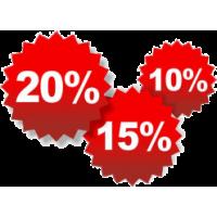 Скидка на все товары от 10%