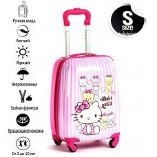 "Чемодан детский на колесах ""Hello Kitty Target Friends"""