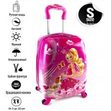 Детский чемоданBarbie-3
