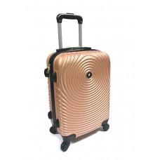 """Пластиковый чемодан """"Пудровый"""""""