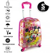 Детский чемодан Mickey & Minnie